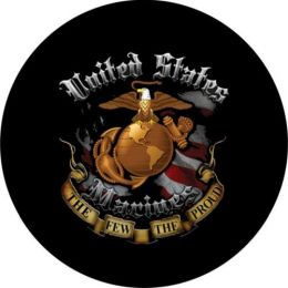 Marines The-Few-The-Proud Tire Cover