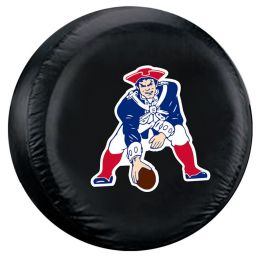 New England Patriots Standard Spare Tire Cover w/ Throwback Logo