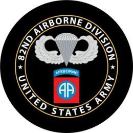 82nd Airborne Spare Tire Cover