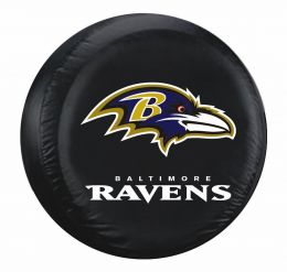 Baltimore Tire Cover w/ Ravens Logo - Large Size