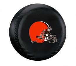 Cleveland Browns Standard Spare Tire Cover w/ Officially Licensed Logo