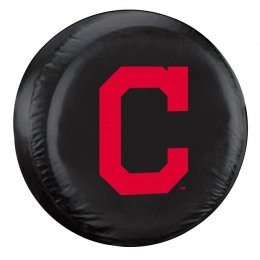 Cleveland Indians Standard Spare Tire Cover w/ Officially Licensed Logo