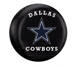 Dallas Cowboys Large Spare Tire Cover w/ Officially Licensed Logo