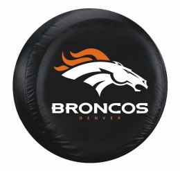Denver Broncos Large Spare Tire Cover w/ Officially Licensed Logo