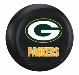 Green Bay Packers Large Spare Tire Cover w/ Officially Licensed Logo