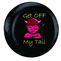 Get Off My Tail Spare Tire Cover