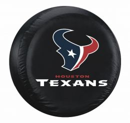 Houston Texans Standard Spare Tire Cover w/ Officially Licensed Logo