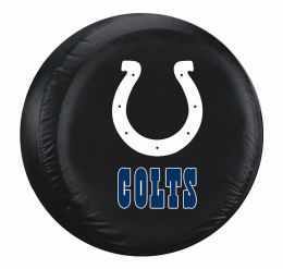 Indianapolis Colts Standard Spare Tire Cover w/ Officially Licensed Logo