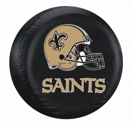 New Orleans Saints Standard Spare Tire Cover w/ Helmet Logo