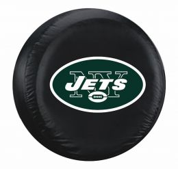 New York Jets Standard Spare Tire Cover w/ Officially Licensed Logo