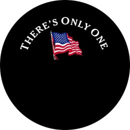 There's Only One Flag Tire Cover