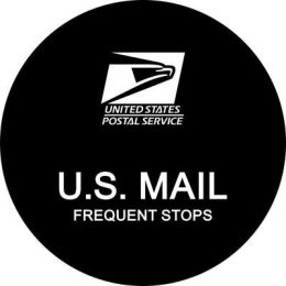 US Mail Postal Spare Tire Cover