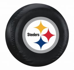 Pittsburgh Steelers Large Spare Tire Cover w/ Officially Licensed Logo