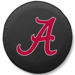 Alabama Tire Cover with Crimson Tide Script 'A' Logo