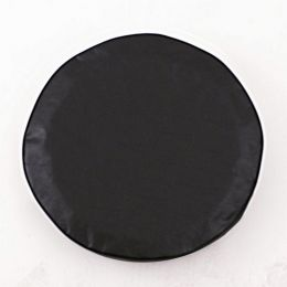 Plain Black Spare Tire Cover