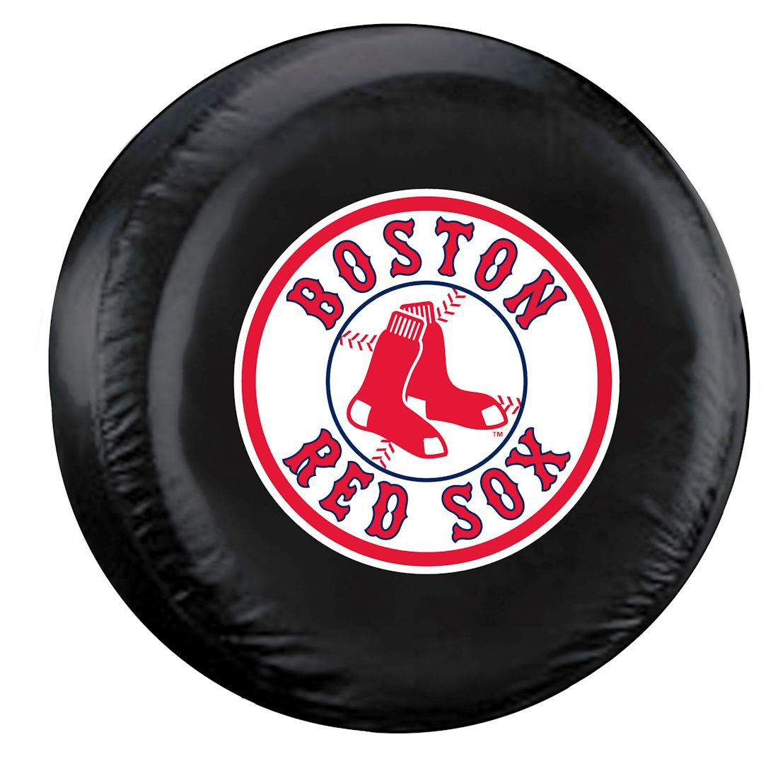 6e0f0f5afab6 Boston Spare Tire Cover w  Red Sox Logo - Standard Size