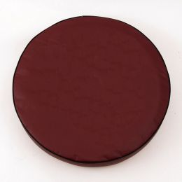 Plain Burgundy Spare Tire Cover