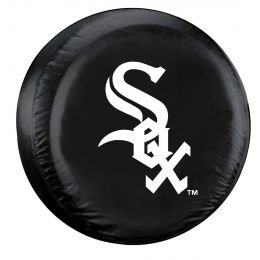 Chicago Spare Tire Cover w/ White Sox Logo - Standard Size