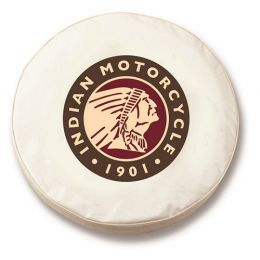 Indian Motorcycles White Tire Cover