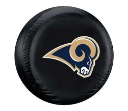 Los Angeles Rams Standard Spare Tire Cover w/ Officially Licensed Logo