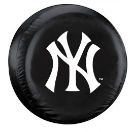 New York Spare Tire Cover w/ Yankees Logo - Standard Size