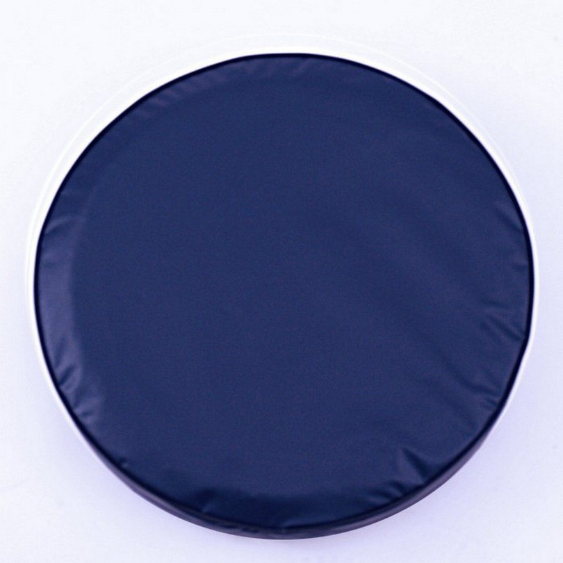 Plain Navy Blue Spare Tire Cover