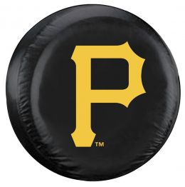 Pittsburgh Spare Tire Cover w/ Pirates Logo - Standard Size