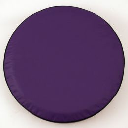 Plain Purple Spare Tire Cover