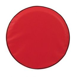 Plain Red Spare Tire Cover