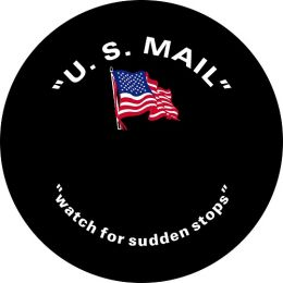 US Mail Spare Tire Cover