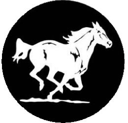 Wild Mustang Spare Tire Cover