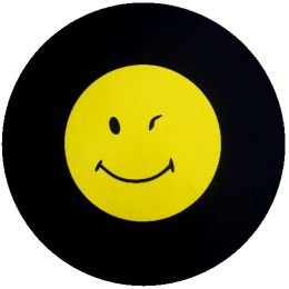 Winking Smiley Spare Tire Cover