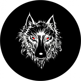 Wolf Spare Tire Cover