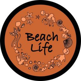 Beach Life Spare Tire Cover