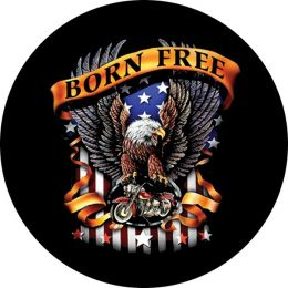 Born Free Eagle Spare Tire Cover