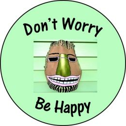 Don't Worry Be Happy Spare Tire Cover