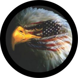 Eagle Eye Flag Spare Tire Cover