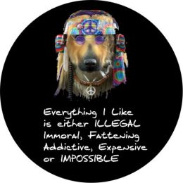 Hippie Dog Spare Tire Cover