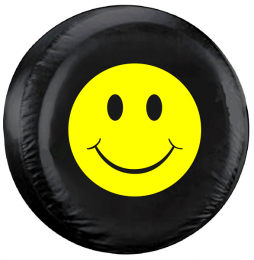 Happy Face Spare Tire Cover