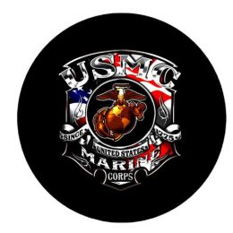 Marine Corps Since 1775 Spare Tire Cover